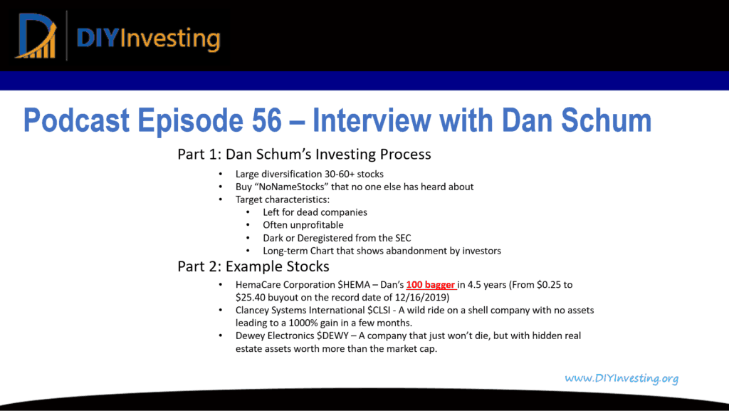 Interview with Dan Schum cover image_Podcast Episode 56